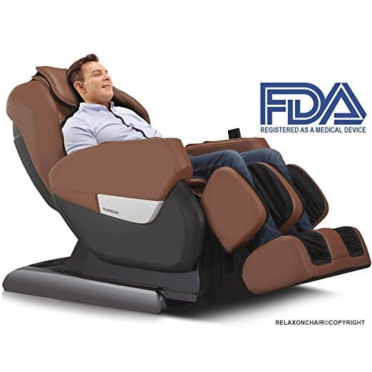 Full Body Zero Gravity Shiatsu RELAXONCHAIR MK-IV Massage Chair Review