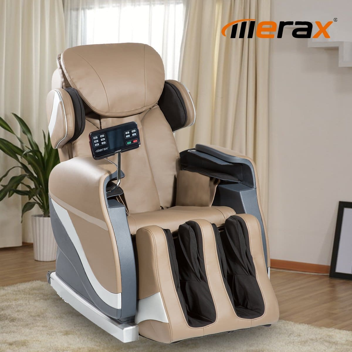 Merax Full Body Massage Recliner Chair 8 Massaging Programs