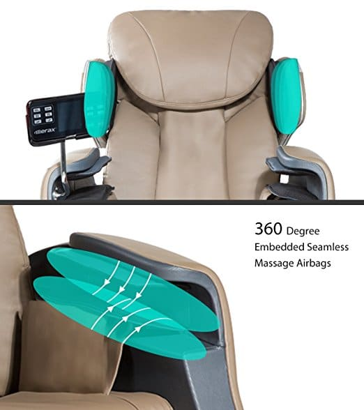 Merax Full Body Massage Recliner Chair Store