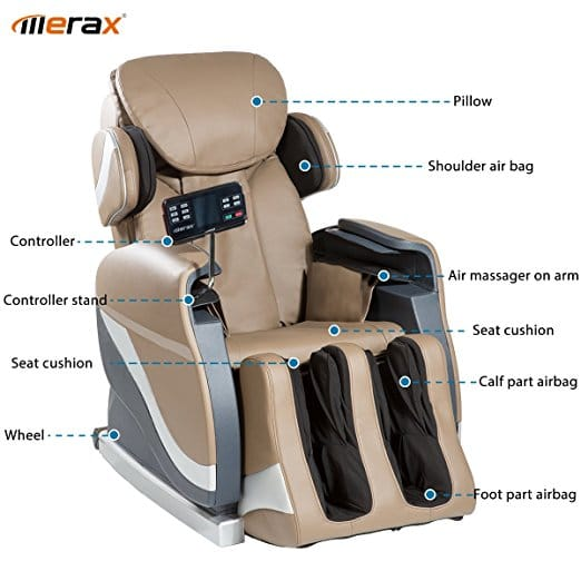 Merax Full Body Massage Recliner Chair