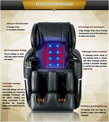 Mr Direct Electric Full Body Shiatsu Massage Chair