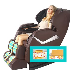 Real Relax Full Body Shiatsu Best Massage Chair Recliner