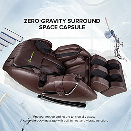 Real Relax Full Body Shiatsu Massage Chair Recliner