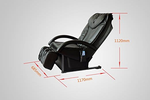 BestMassage BM EC-69 Massage Chair Space Saving